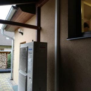 tepelné čerpadlo instalace dům